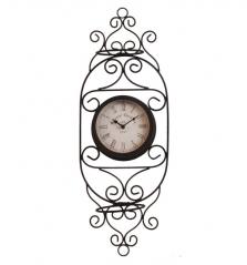 02-215 Часы настенные Летний сад метал. (61*5*21,5 см)