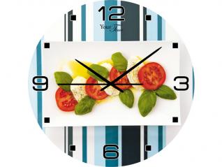 01-108 Часы настен. серия Кухня Итальяно стекло/кругл. 28см