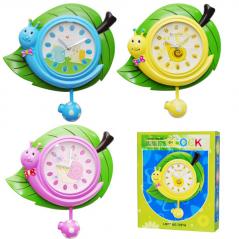 05-102 Часы настенные Детские Улитка кварц. пластик 26*8*32cм