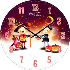 05-401/1 Часы настен. серия Детская Волшебник МДФ круг. 25см