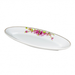 30826 Тарелка для рыбы 14 'Сакура (35 * 14 * 3,5 см)