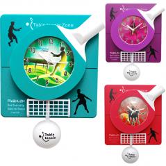 05-012 Wall clock with pendulum Baby Badminton kvarts.plastik 30.5 * 5.6 * 41.5 cm