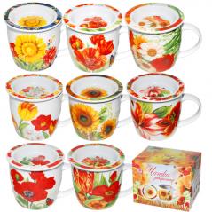 2107 Чашка заварочная <a href='http://snt.od.ua/ru/poisk.html?q=Цветы' />Цветы</a> 300мл