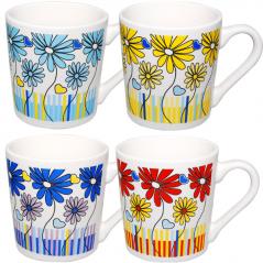 2182 Чашка  310мл Цветы
