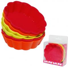 20011 Набор форм для выпечки кексов 7,5*2,2см 6шт