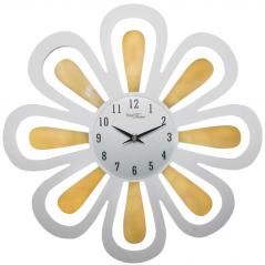 02-230 Часы настенные с напылением МДФ/акрил. 40х40 см