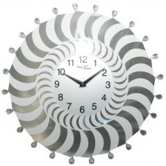 02-232 Часы настенные металл/акрил. 40х40 см