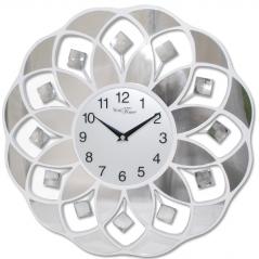 02-231 Часы настенные металл/акрил. 40х40 см