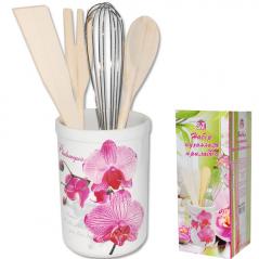 6034-3 Набор кухонных принадлежностей Летний сад Микс 3