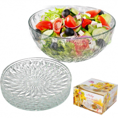 9230 Набор для салата 7шт (салат-2,3л, тарелка: d-20см)