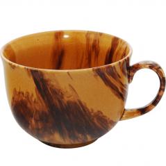 50207 Чашка Аппетитка радуга коричневая 500мл