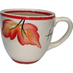50199 Чашка Одесса рисунок осень красная  220мл