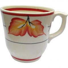 50203 Чашка Сумы рисунок осень красная 350мл