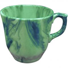 50203 Чашка Сумы радуга зеленая 350мл