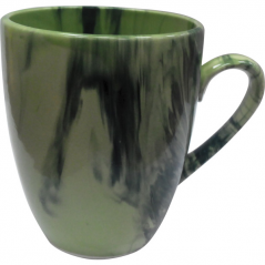 50198 Чашка Европа радуга зелёная 400 мл