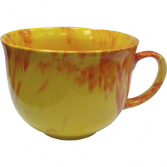 50209 Чашка Аппетитка <a href='http://snt.od.ua/ru/poisk.html?q=радуга' />радуга</a> желто-красная  500мл