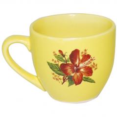 50199 Чашка Одесса лимон с деколью 220 мл