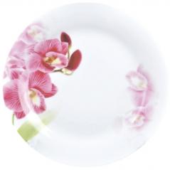 30002-1462 Тарелка 9 Красная орхидея