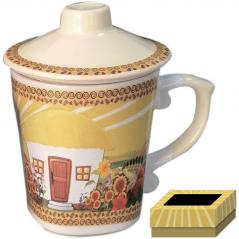 2142 Чашка заварочная 350 мл  Наши традиции/Хатынка