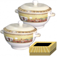 7189 Set bulonits with cover 2 pcs 620 ml Our traditions / hatynke