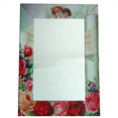 740-001 Mirror with frame 80h60h4,5 see Angels