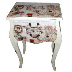 740-004  Table Vintage 79,5х51х30 cm