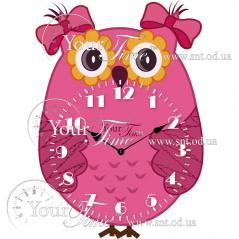 05-226 Clock Owl Children MDF 22.5 * 4.5 * 32,5sm