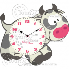 05-230 clock Ladybird Children MDF 34 * 4.5 * 28cm
