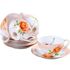 1715 Сервиз чайный 12пр. 220мл Китайская роза