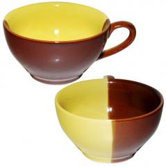 50196 Чашка чайная день/ночь лимон 380 мл