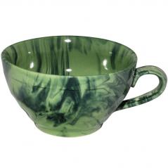 50196 Чашка чайная Радуга зеленая 380 мл