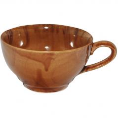 50196 Чашка чайная <a href='http://snt.od.ua/ru/poisk.html?q=радуга' />радуга</a> коричневая 380 мл