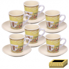 1517-03 tea service, etc. 12 200 ml Our traditions / Hatynka