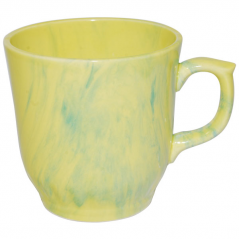 50203 Чашка Сумы радуга желто-зелёная 350мл