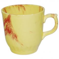 50203 Чашка Сумы радуга жёлто-красная 350мл