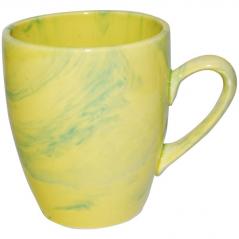 50198 Чашка Европа <a href='http://snt.od.ua/ru/poisk.html?q=радуга' />радуга</a> жёлто-зеленая 400мл