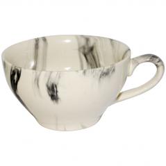 50196 Чашка чайная <a href='http://snt.od.ua/ru/poisk.html?q=радуга' />радуга</a> чёрная 380 мл