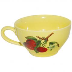 50196 Чашка чайная лимон с деколью 380 мл