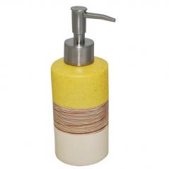 888-018 Диспенсер для мыла Янтарь 300ml 18*6см
