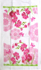 Wafer 93 201 50 * 68cm, cotton Orchid
