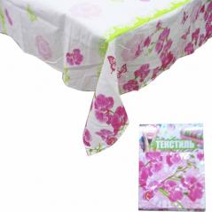 93203 Rectangular Tablecloth 140 * 180cm, cotton Orchid