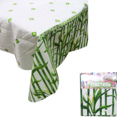 93203 Rectangular Tablecloth 140 * 180cm, Cotton Bamboo