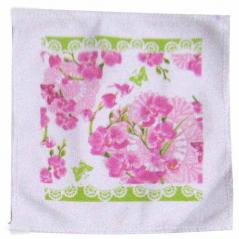93206 3pc set kitchen towels. 20 * 20cm, cotton velor Orchid