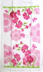 93 208 3pc set kitchen towels. 38 * 63sm, cotton velor Orchid