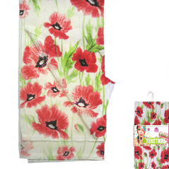 Set of 6 napkins 93 211 units, 20 * 20cm, cotton Red Poppy