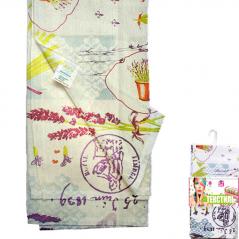 Set of 6 napkins 93 211 units, 20 * 20cm, Cotton Lavender