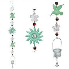 777-008 hanging ornamental candlestick Hummingbird 110 cm
