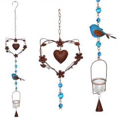 777-009 hanging ornamental candlestick Love 90 cm
