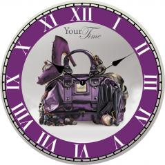 02-328 Часы настенные Гламур МДФ 28см