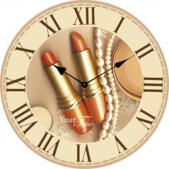 02-330 Часы настенные Гламур МДФ 28см